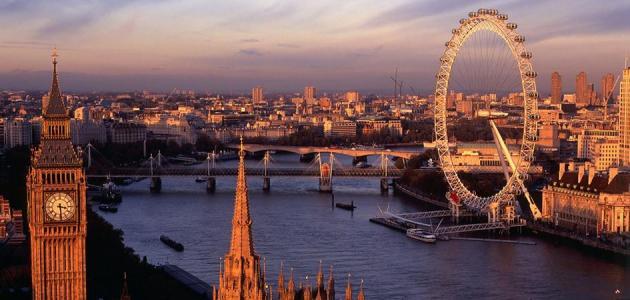 وصف لمدينة لندن