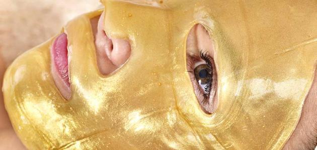 فوائد الذهب للبشرة