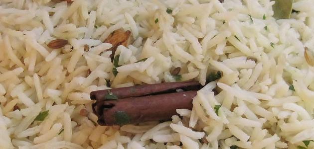 كيف اطبخ الرز البسمتي