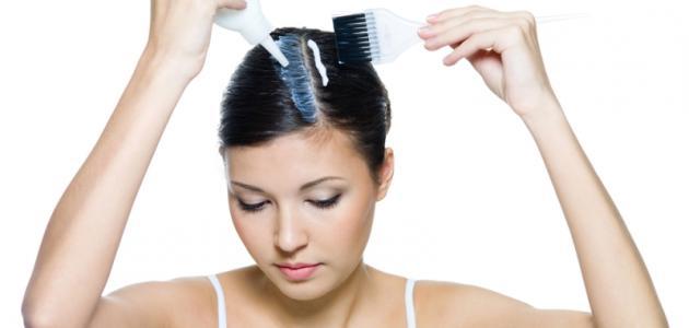 وصفة طبيعية لإزالة صبغة الشعر