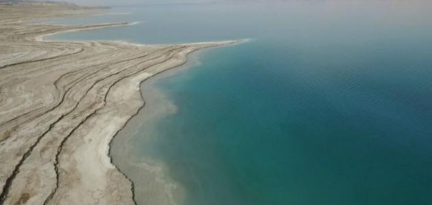 وصف البحر الميت