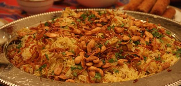 طريقة الأرز البرياني بالدجاج