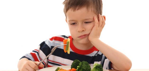 ضعف الشهية عند الأطفال