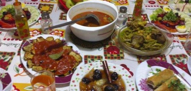 وصفات طبخات رمضانية مغربية