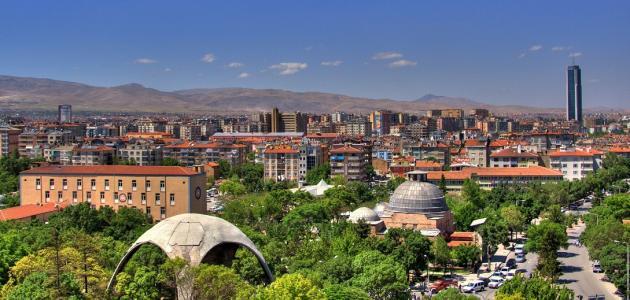 مدينة قونية في تركيا