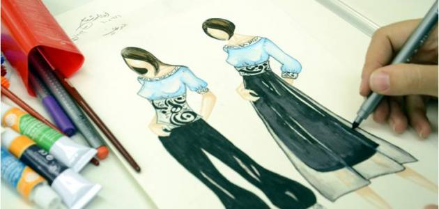 عناصر تصميم الأزياء