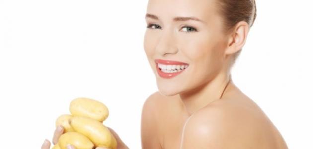 فوائد البطاطس للشعر