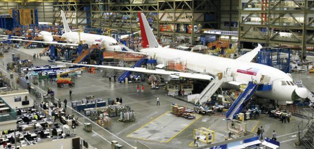 صناعة الطائرات