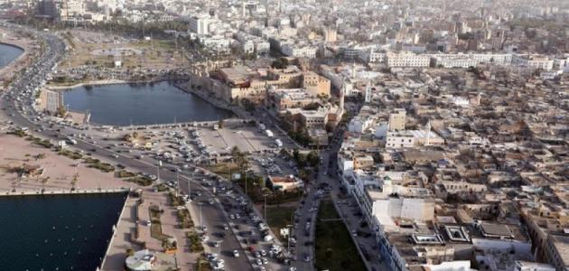 مدينة طرابلس في ليبيا