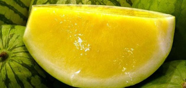 فوائد بذور البطيخ الأصفر