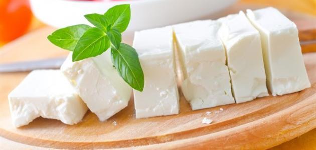 عمل الجبنة البيضاء في البيت