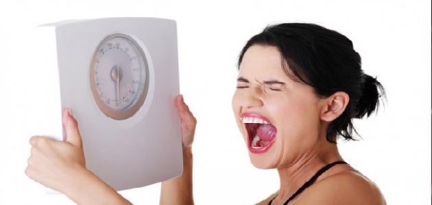 هل ينقص الوزن بعد الدورة الشهرية
