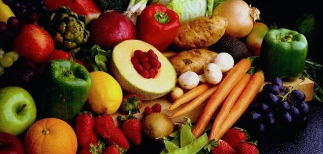 ما شروط الطعام الصحي