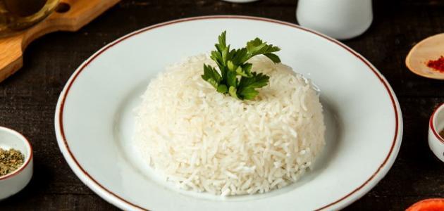 عمل الأرز المصري