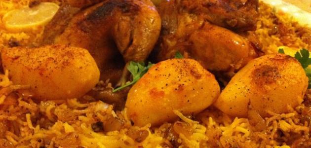 طريقة الأرز بالدجاج اللذيذة
