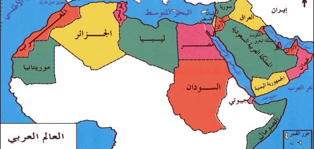 """Résultat de recherche d'images pour """"خريطة العالم العربي"""""""