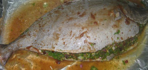 طريقة طبخ سمك الزبيدي