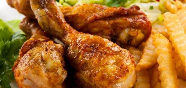 طريقة طبخ أفخاذ الدجاج
