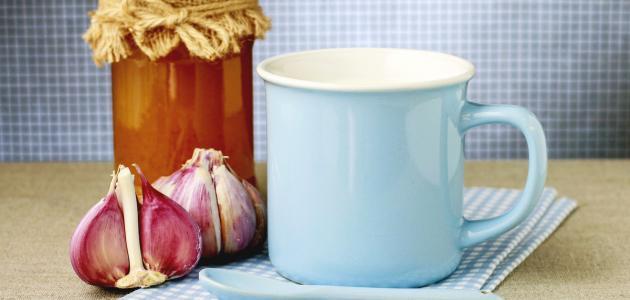 فوائد الثوم مع الحليب