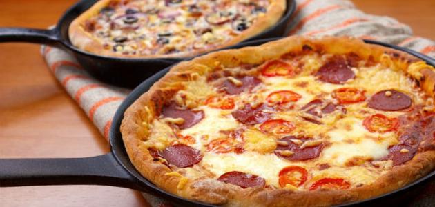 طريقة عمل البيتزا في 10 دقائق
