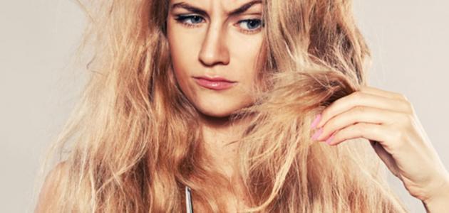 طريقة علاج الشعر المتقصف