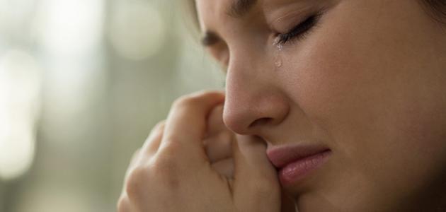 هل البكاء قبل النوم يسبب الوفاة