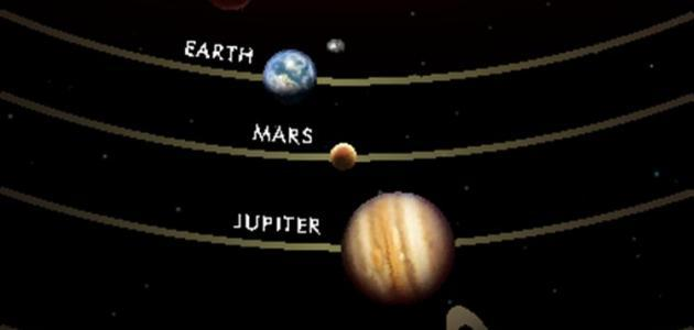 عدد أقمار كواكب المجموعة الشمسية