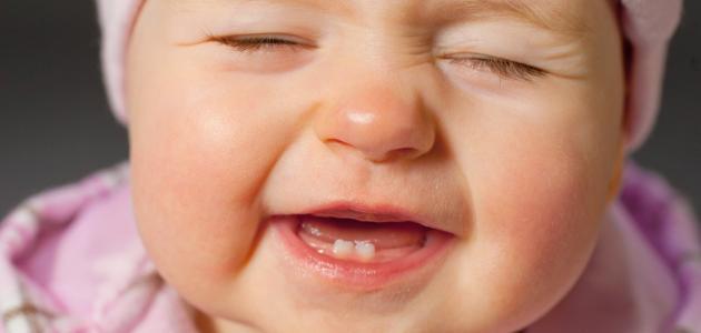 ظهور الأسنان عند الرضع
