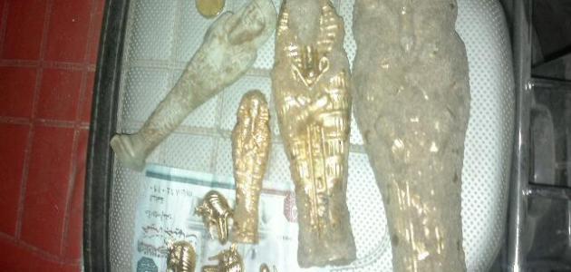 كيفية استخراج الآثار الفرعونية من باطن الأرض