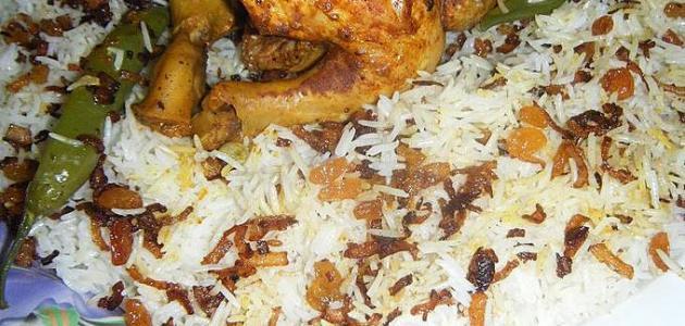 طريقة طبخ أرز باب الهند