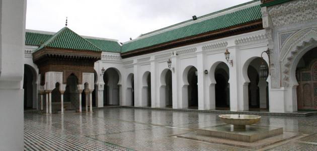 جامع القرويين في مدينة فاس