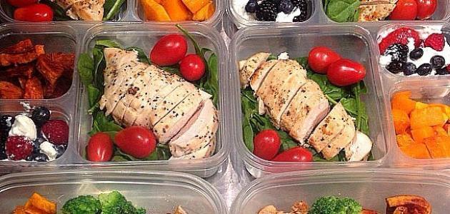 كيف أنظم أكلي اليومي