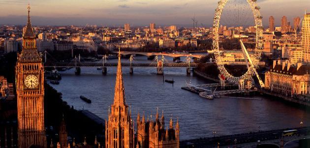 مدينة لندن في بريطانيا