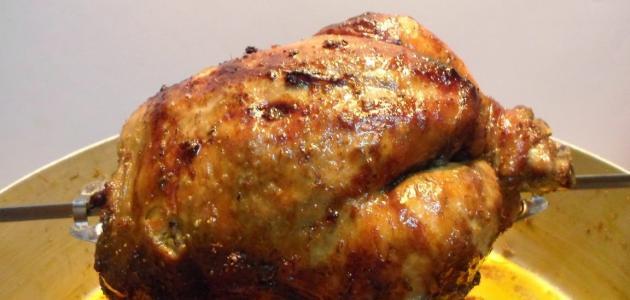 طريقة شوي الدجاج في الفرن الكهربائي