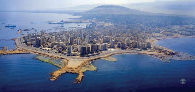 مدينة طرابلس اللبنانية