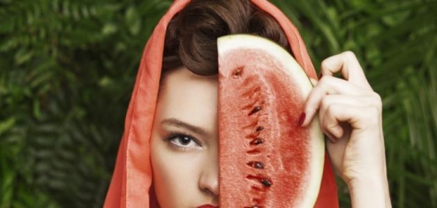 ما فوائد البطيخ للبشرة