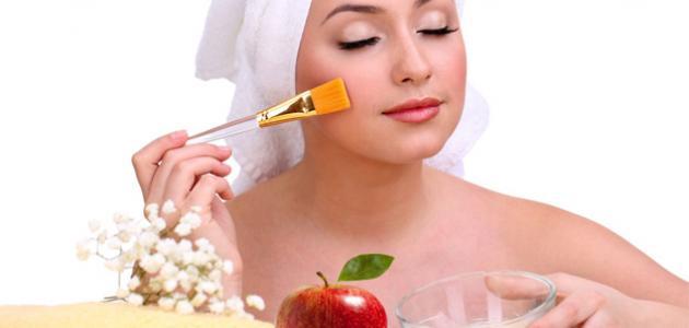 ما فوائد التفاح للبشرة