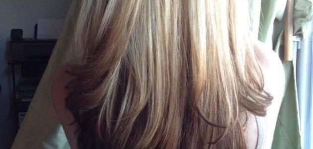 طريقة دمج صبغات الشعر