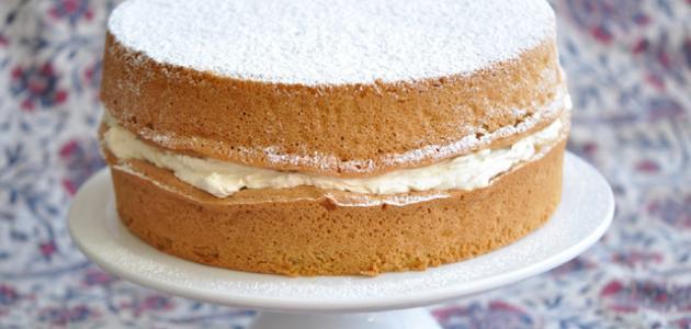 كيفية صنع الكيكة العادية