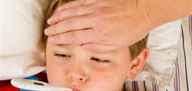 طريقة خفض درجة الحرارة عند الأطفال