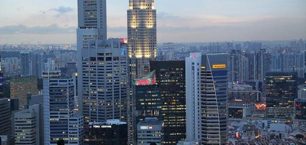 معلومات عن مدينة سنغافورة