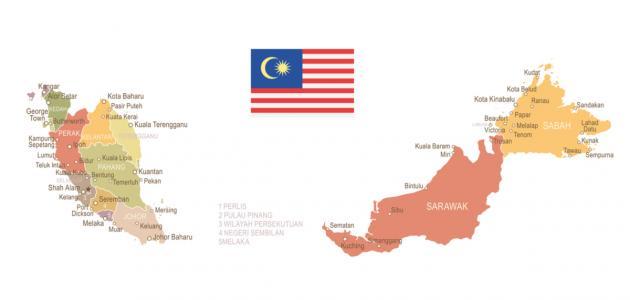 مساحة وعدد سكان ماليزيا