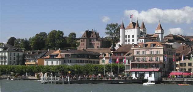 مدينة جنيف السويسرية