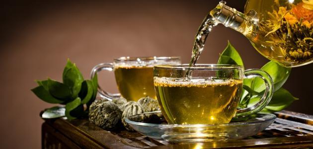 ما فوائد الشاي الأخضر بعد الأكل