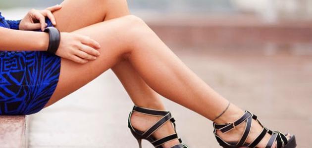 كيفية الحصول على ساقين ناعمتين