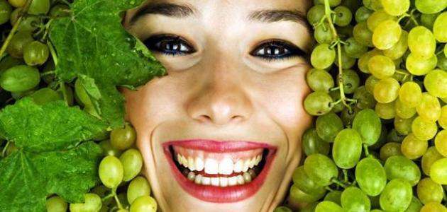 ما فوائد العنب للبشرة