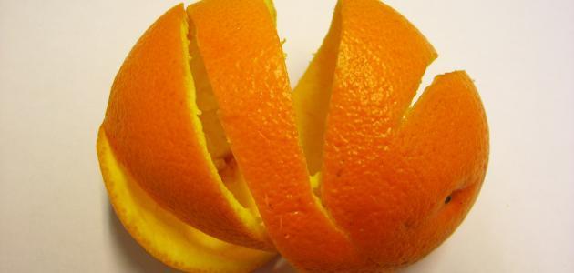 ما فوائد قشر البرتقال للوجه