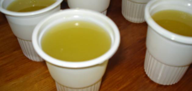 كيفية صنع عصير الليمون المركز