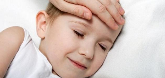 ما هي أسباب ارتفاع درجة الحرارة عند الأطفال
