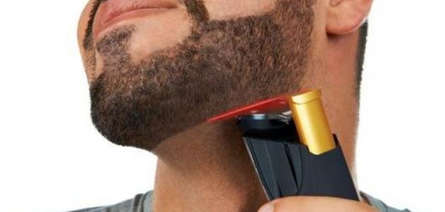 طريقة تطويل شعر الذقن